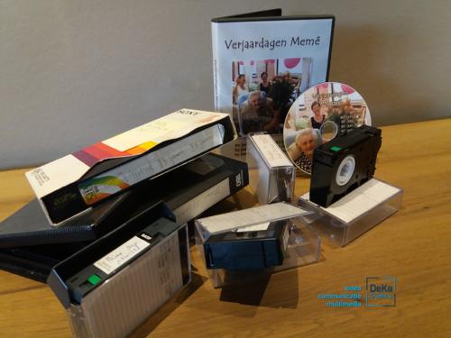 DeKa Graphics   VHS cassettes digitaliseren_02