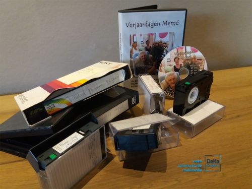 DeKa Graphics | VHS cassettes digitaliseren_02